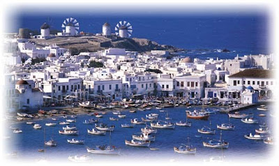 best places in greece, myconos greece
