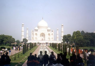 Agra India The Taj Mahal tourist attraction interesting places