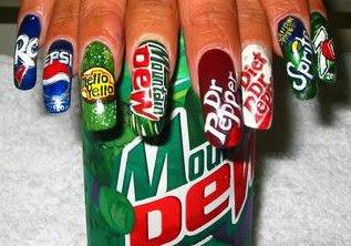 Amazing nail art 4