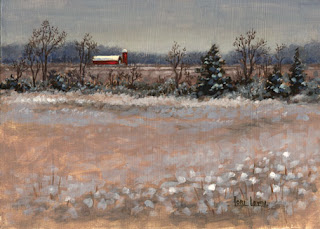 Distant Barn by Lori Levin