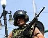 US Militärpolizei bewaffnet