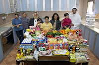 Essen für eine Woche in Kuwait