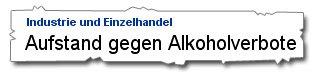 Aufstand gegen Alkoholverbote - Süddeutsche