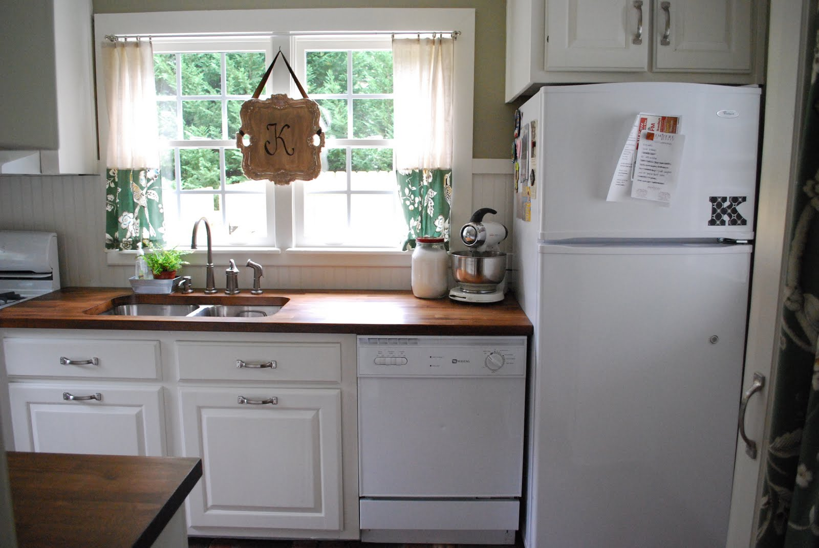 this & that: kitchen lighting