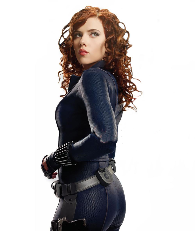 Scarlett Johansson As Black Widow In Iron Man