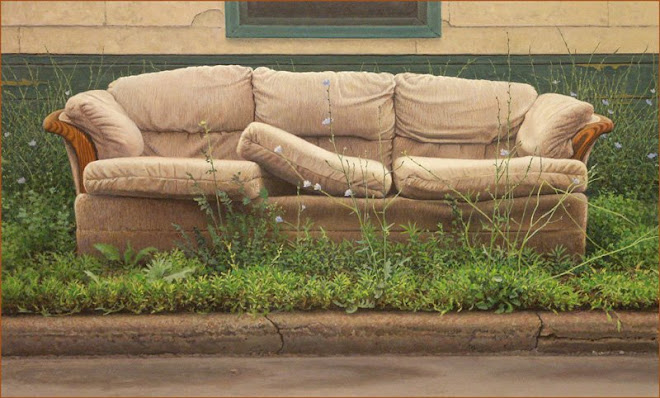 Couch Art On Kenilworth Ave. N, Hamilton Ontario.