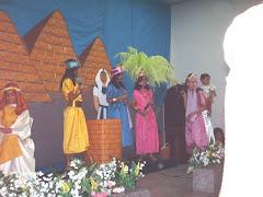 Crianças da AD São Miguel, onde estou cooperando no Depto Infantil