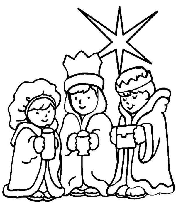 Fabuloso Evangelizando Crianças: Desenhos para colorir - NATAL ST09