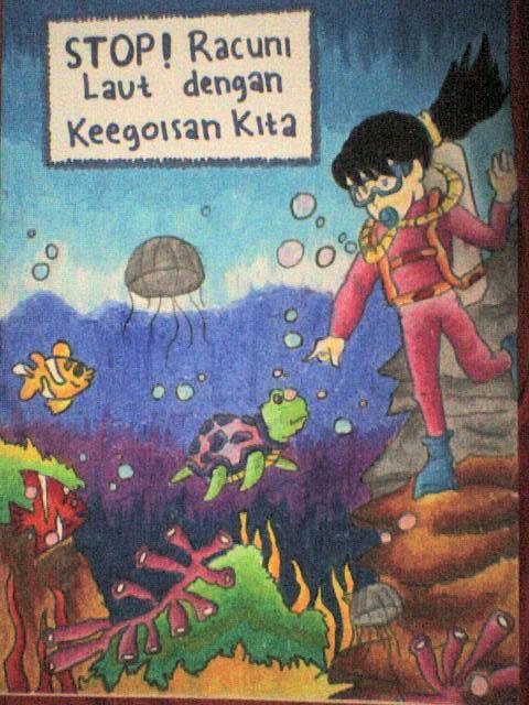 contoh poster tentang lingkungan