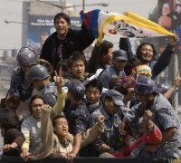 Tibetan youth in exile