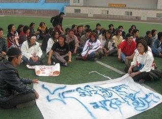 Tibetan sit-in