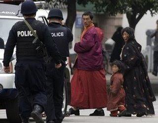 Tibetans in Chengdu