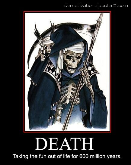 Death Demotivational Poster