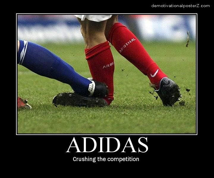 Adidas - Crushing The Competition da silva injury