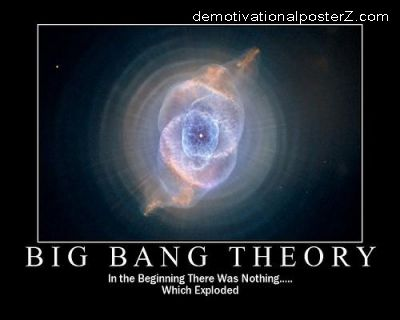 Big Bang Theory motivational