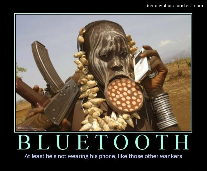 Bluetooth black African