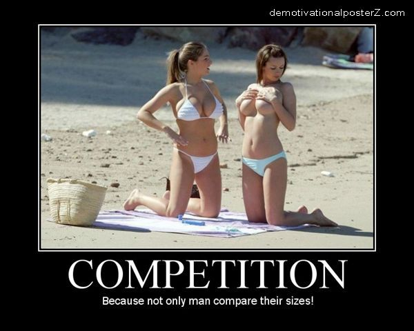 Boob size Competition
