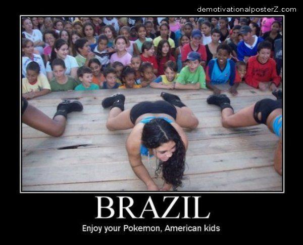 Brazil - Enjoy your Pokemon, American kids