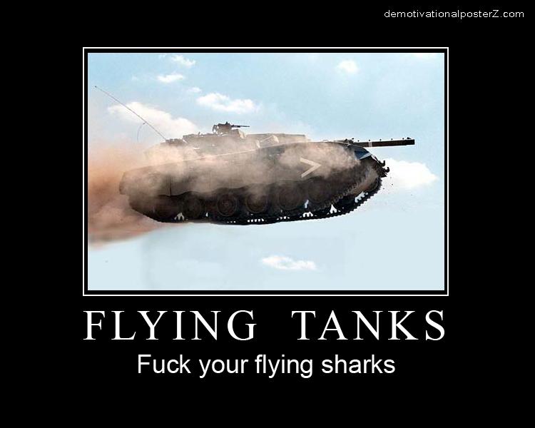 Flying Tanks