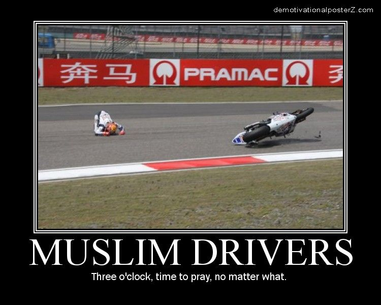 Muslim Drivers time to pray