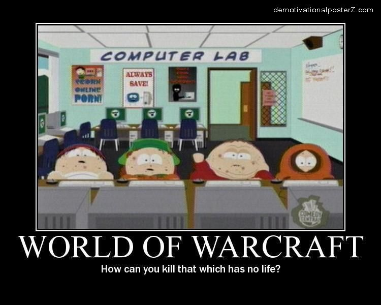 World Of Warcraft South Park