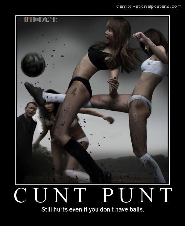 Cunt Punt Motivational