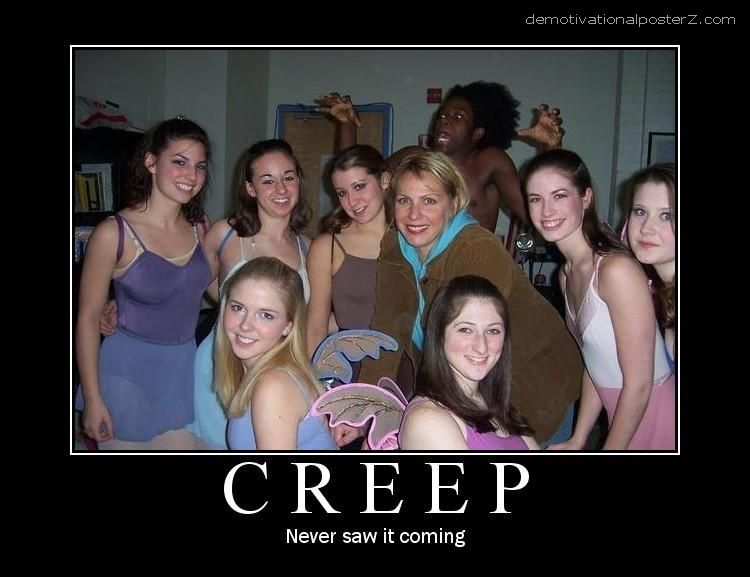 Creep - never saw it coming
