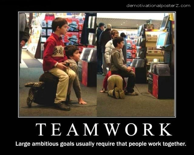 Teamwork Poster Kids Teamwork Motivational Poster