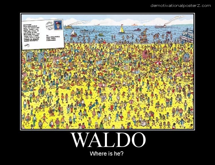 Waldo - where is he?