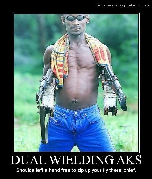 Dual Wielding Aks
