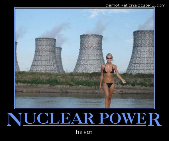 Nuclear power - it's hot