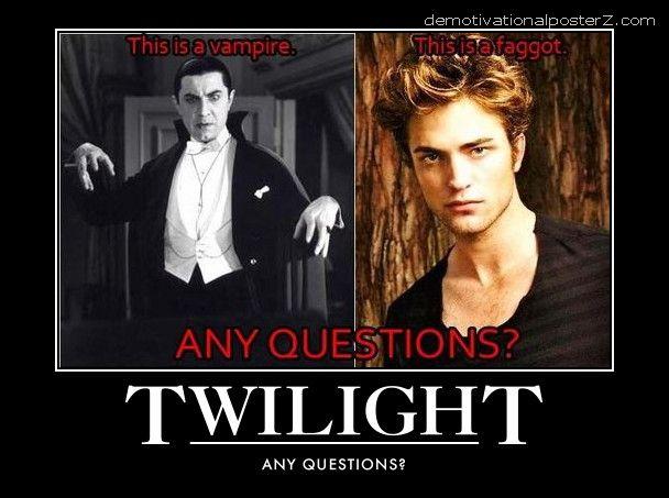 Twilight motivational poster