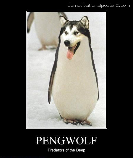 PENGWOLF - Predators Of The Deep