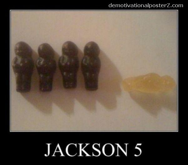 JACKSON 5 MOTIVATIONAL POSTER