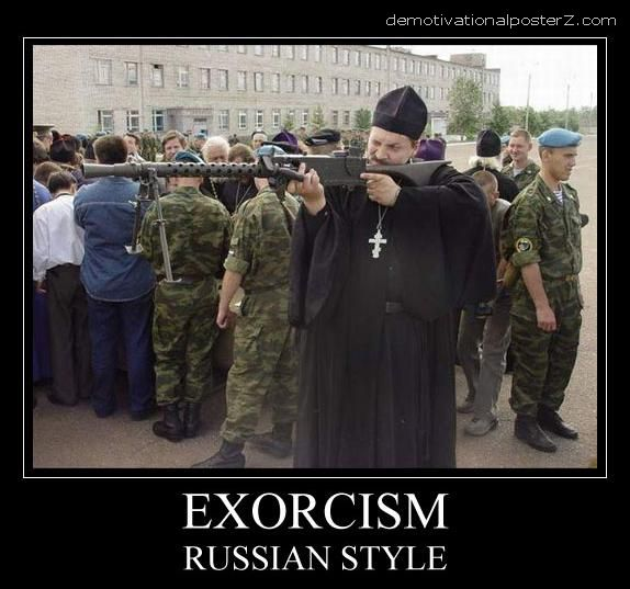 exorcism russian style
