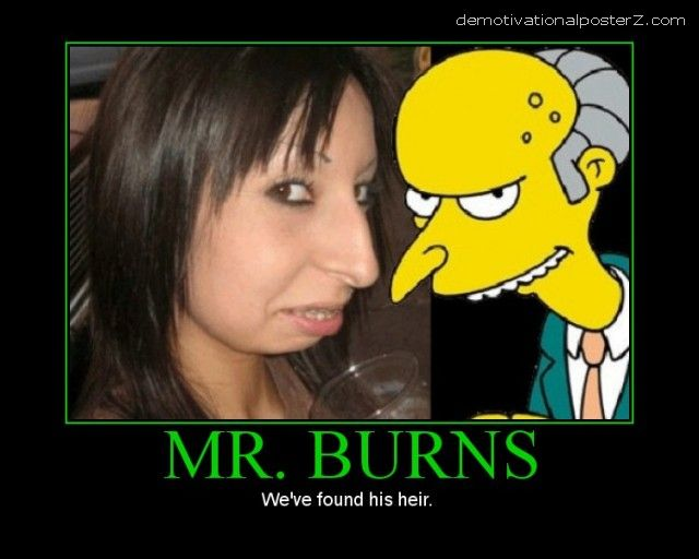 mr burns look alike