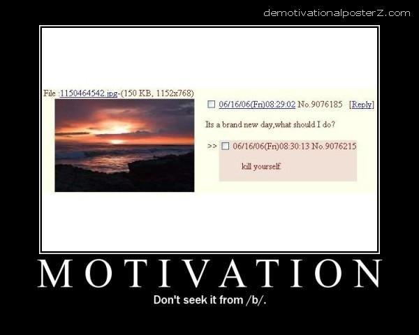/b/ motivation