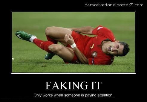 faking it ronaldo