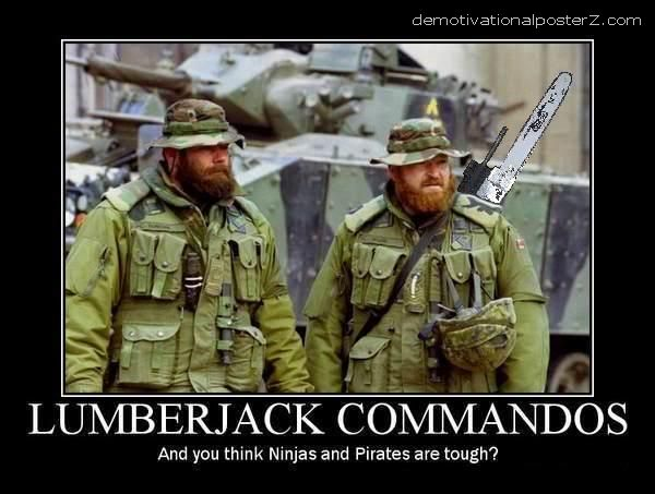 lumberjack commandos