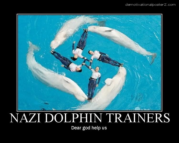 NAZI DOLPHIN TRAINERS