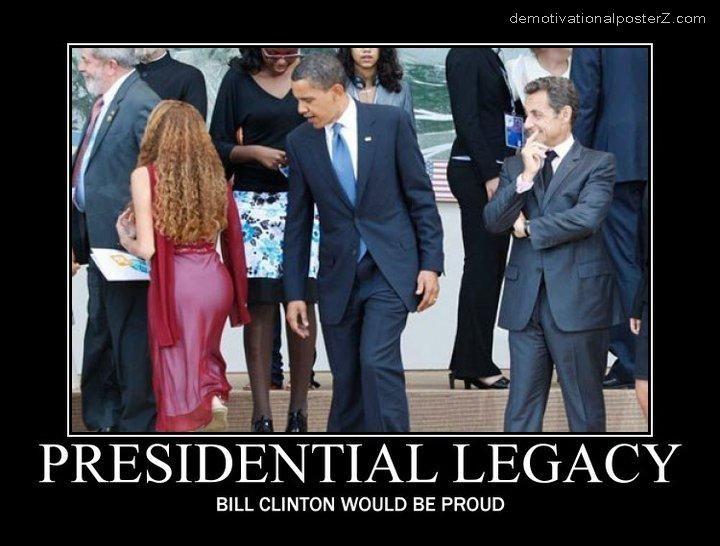 obama checks out ass butt