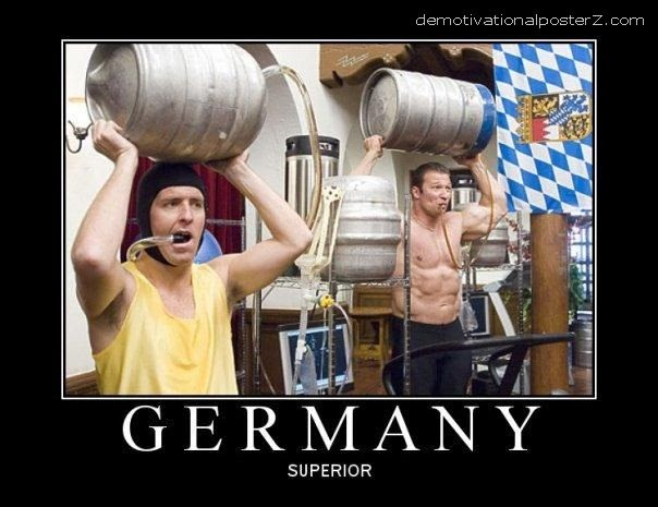Germany Superior Motivational Poster