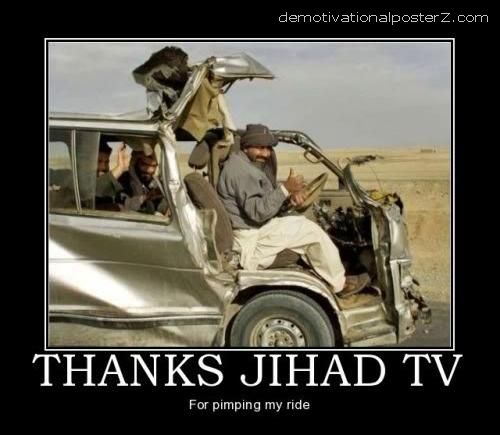 THANKS JIHAD TV - FOR PIMPING MY RIDE