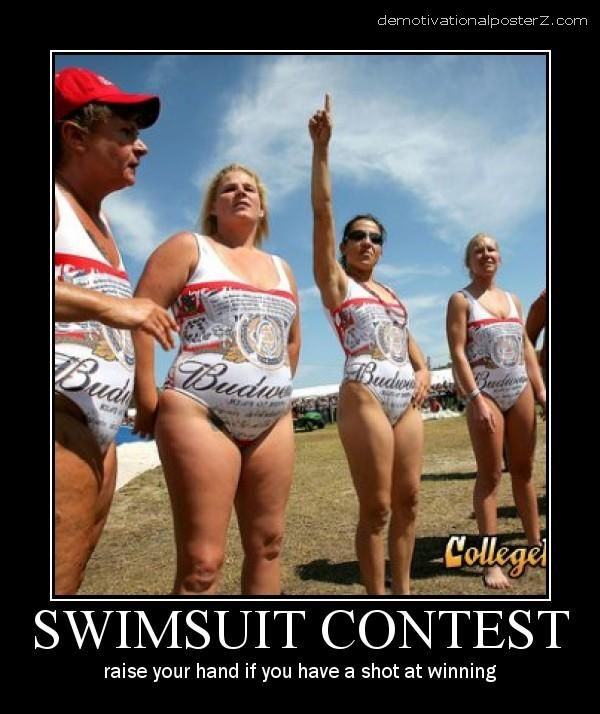 swimsuit contest motivational