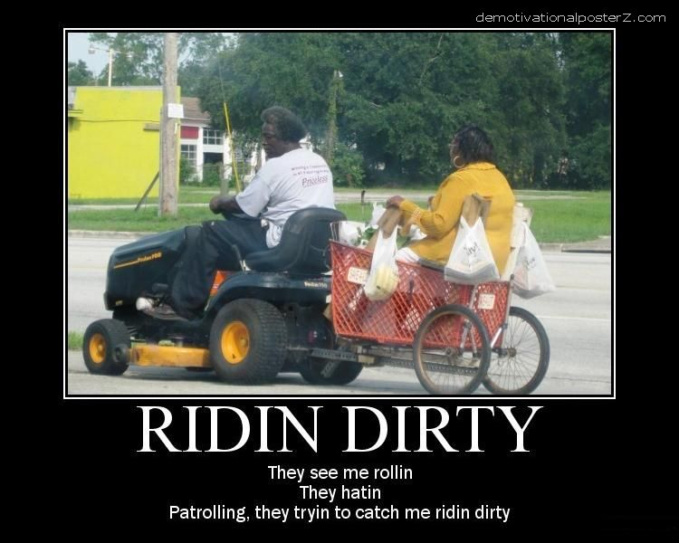 ridin dirty they see me rollin trailer black woman