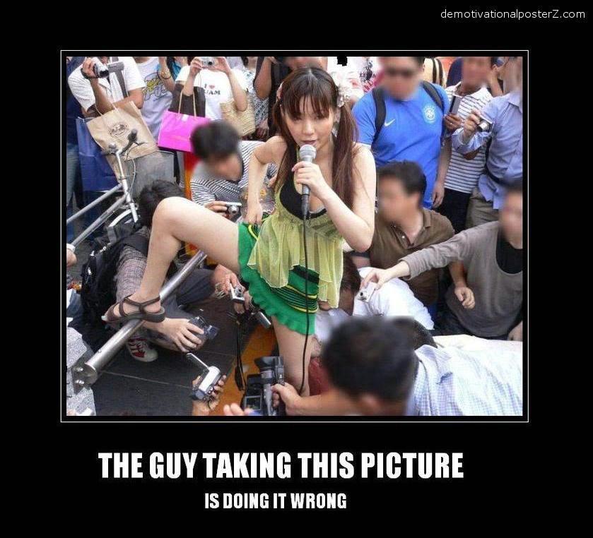 asians upskirt photo doing it wrong