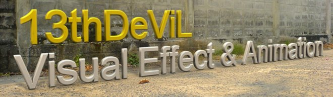 13thDeViL Visual Effect & Animation
