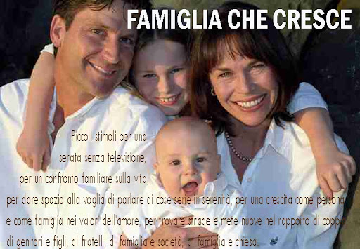 FAMIGLIA CHE CRESCE