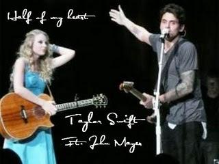 John Mayer Taylor Swift on Disney Channel Fan  John Mayer Ft  Taylor Swift   Half Of My Heart Mp3