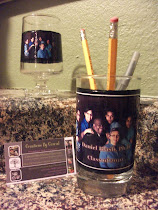 Photo Pencil/Pen Holder and Paper Clip Container